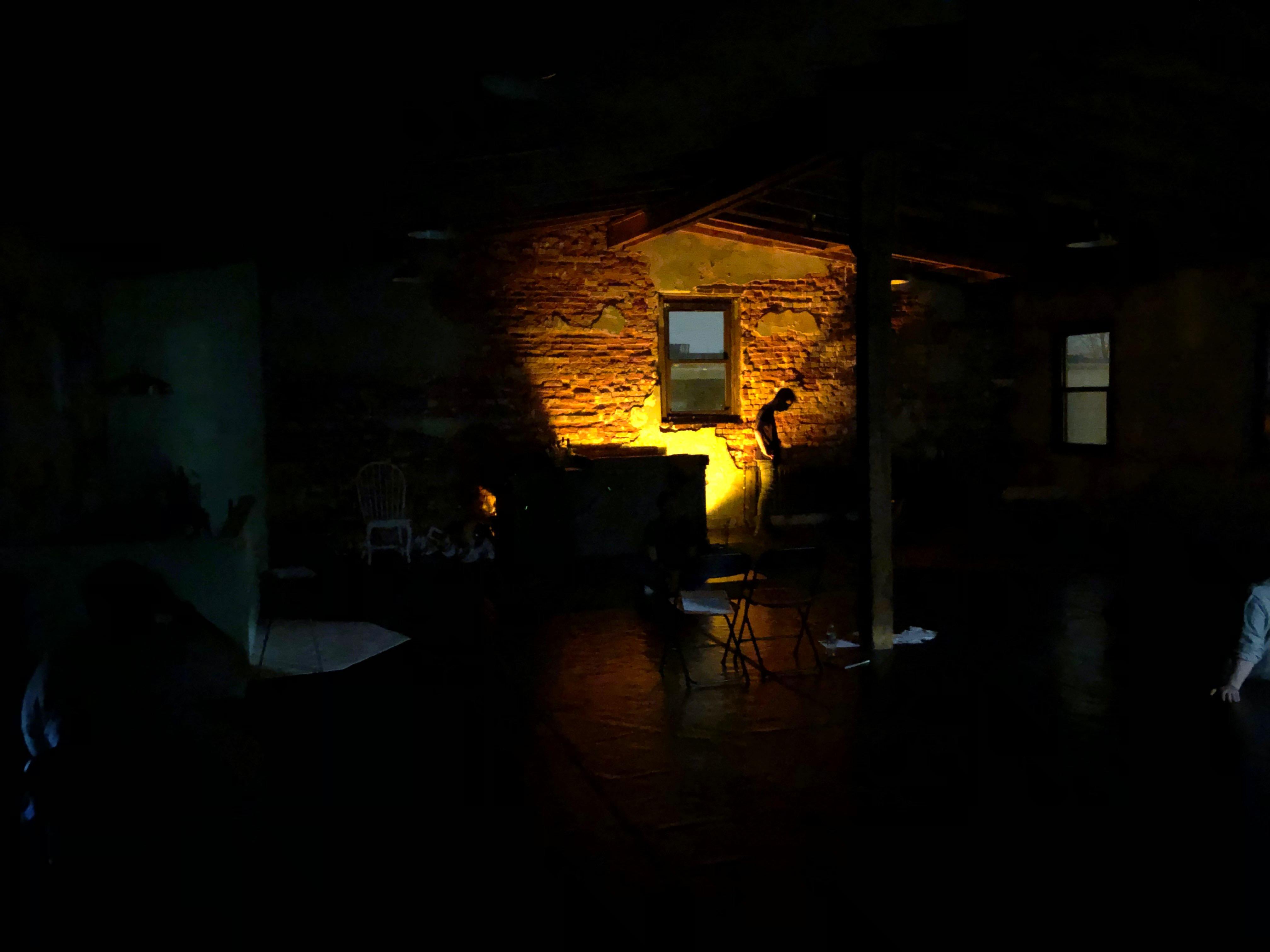 "Rehearsal of an ""Outside"" Scene"