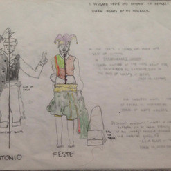 Costume Concept for Twelfth Night