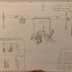 Homebody/Kabul Concept Sketch