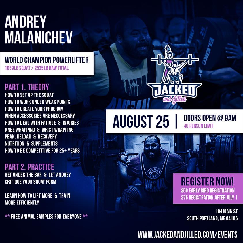 Andrey Malanichev Master the Squat