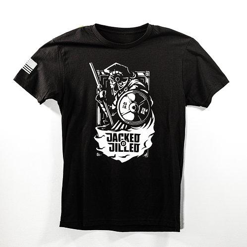 Black Spartan T-Shirt