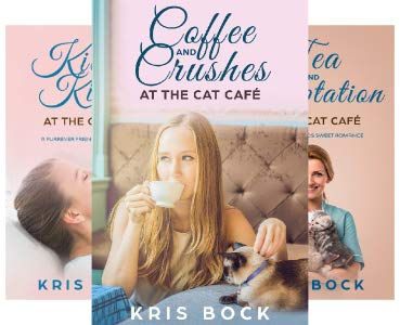 Kris Bock Cat Cafe all three books.jpg