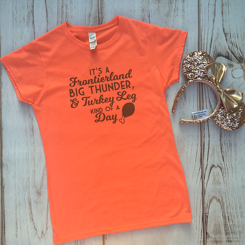 Frontierland Kind of a Day Crew Tee