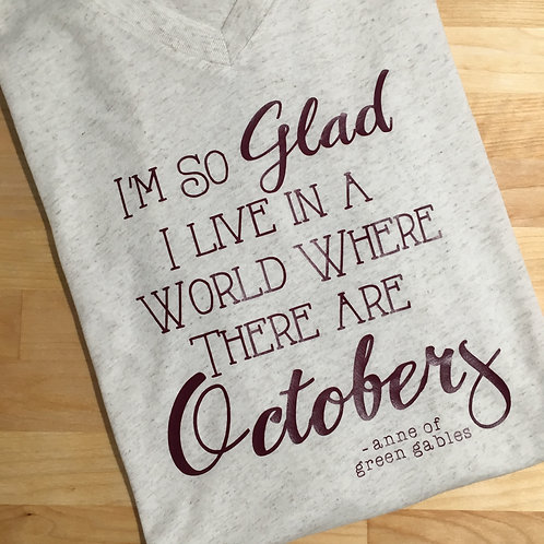 So Glad for Octobers Fall Tee