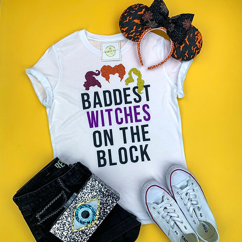 Baddest Witches Ladies Crew