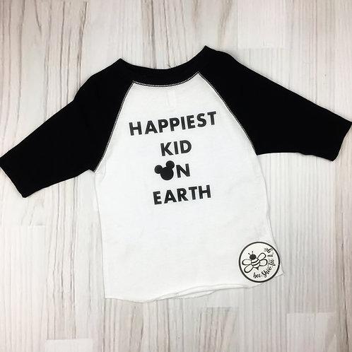 Happiest Kid on Earth Youth Raglan Tee