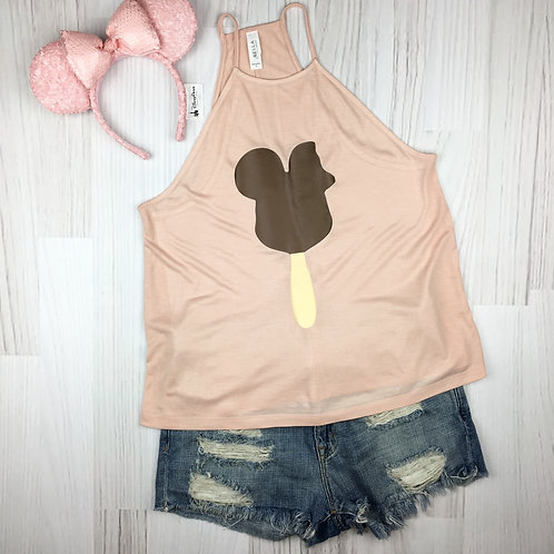 M. Mouse Ice Cream High Neck Tank