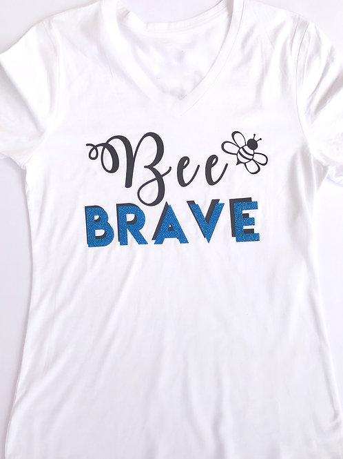 """""""Bee"""" Brave V-Neck"""