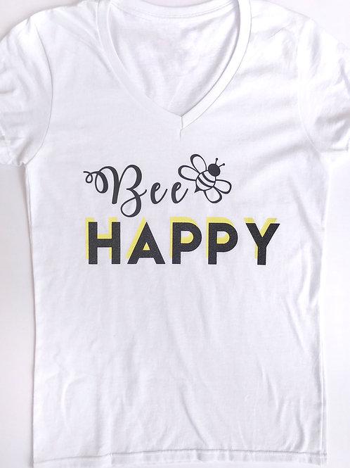 """""""Bee"""" Happy V-Neck"""
