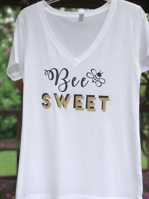 """Bee"" Sweet V-Neck"