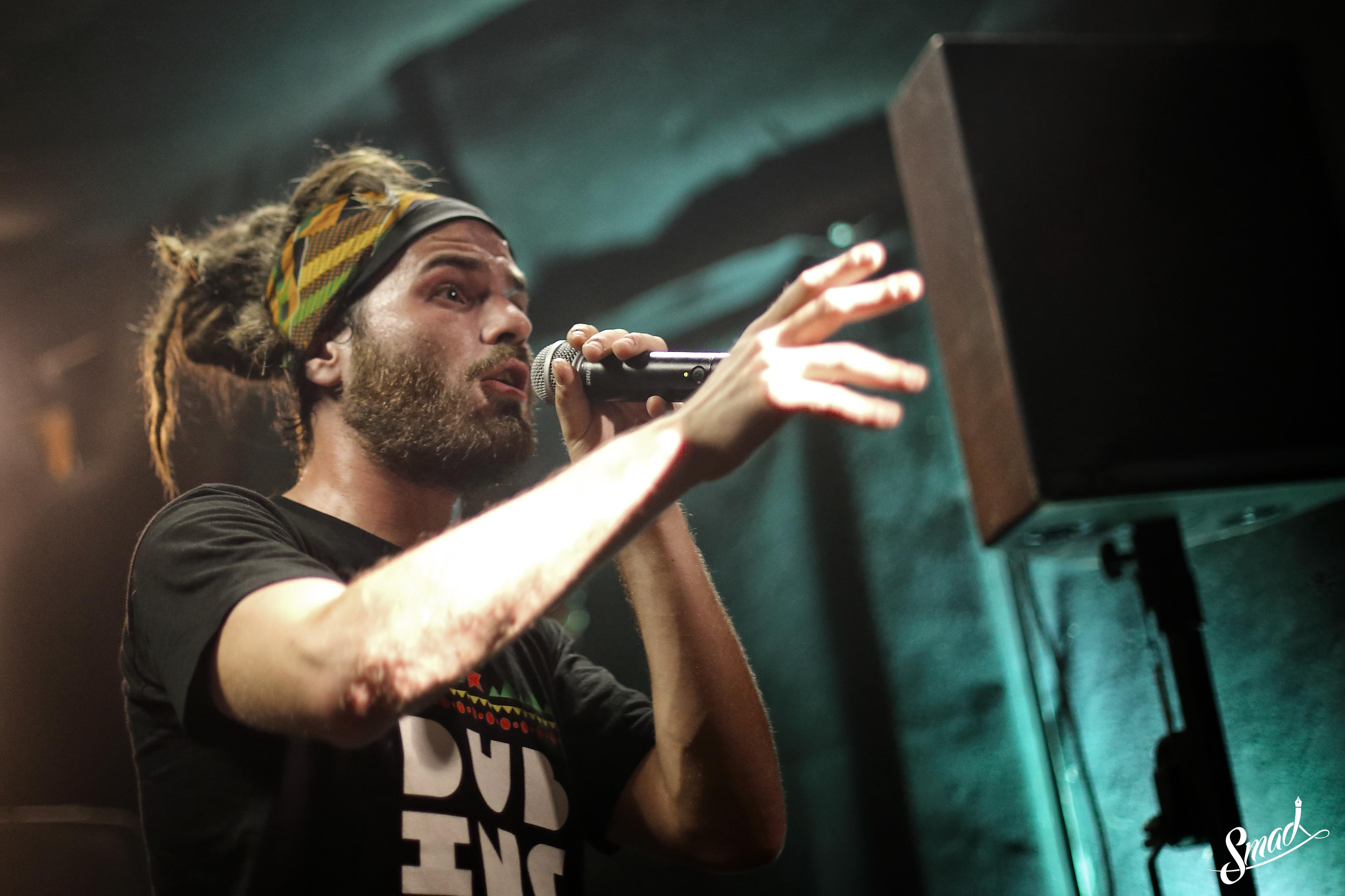 Smad concert reggae musique français