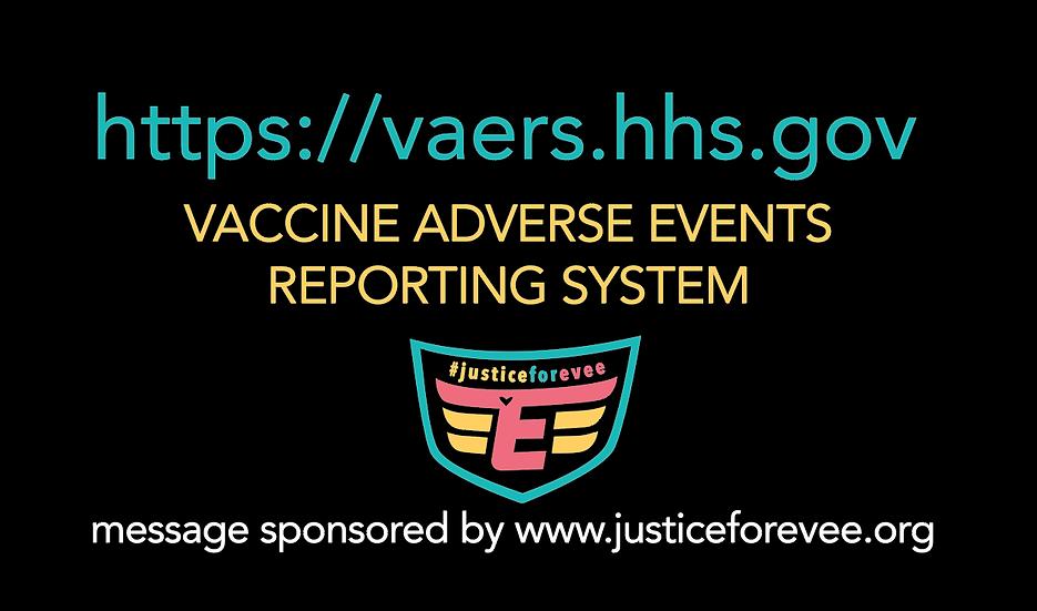 VAERS / Vax Injury Info Cards (40)