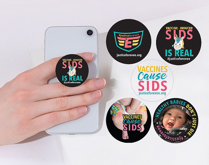 DECALS for Pop-Sockets - 5 Pack