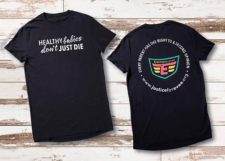 Healthy Babies / SuperEvee Adult T-Shirt