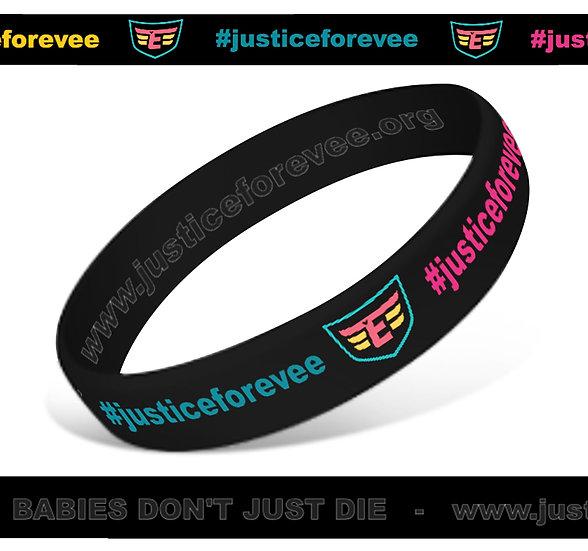 #JusticeForEvee Wristbands