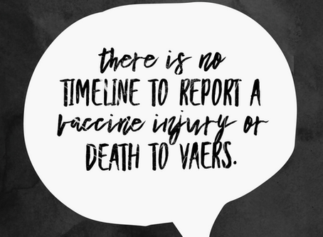 The Vaccine Adverse Event Reporting System