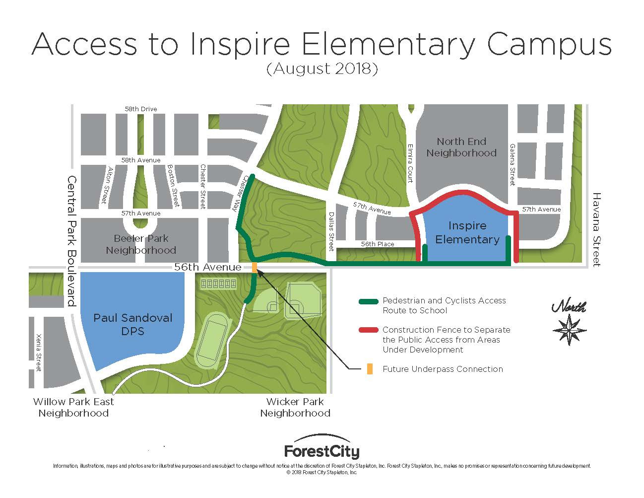 Walking route to the new Inspire Elementary on map of northeast denver, map of cherry creek denver, map of denver international airport, map of lohi denver, map of sunnyside denver, map of jefferson county denver, map of 16th street mall denver, map of capitol hill denver, map of wash park denver, map of city park denver, map of sloans lake denver, map of denver zoo, map of aurora denver, map of lodo denver, map of downtown denver,