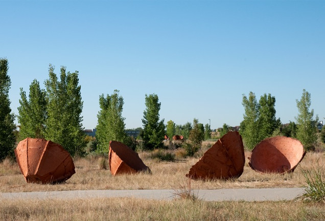 Chorus Sculpture at Westerly Creek Park