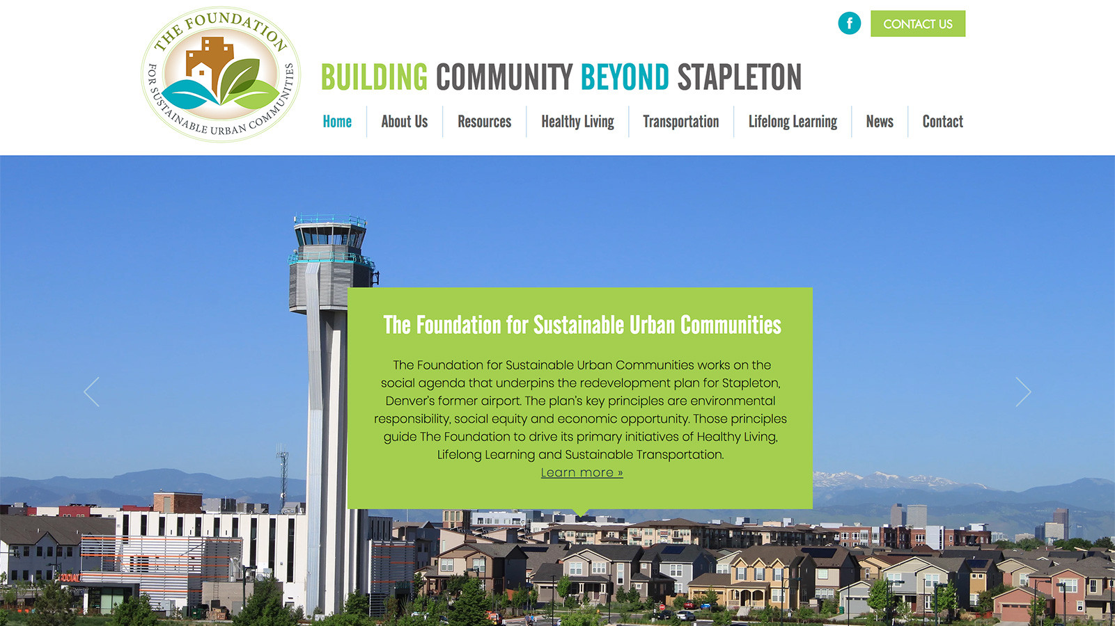 Healthy Living | Foundation for Sustainable Urban Communities