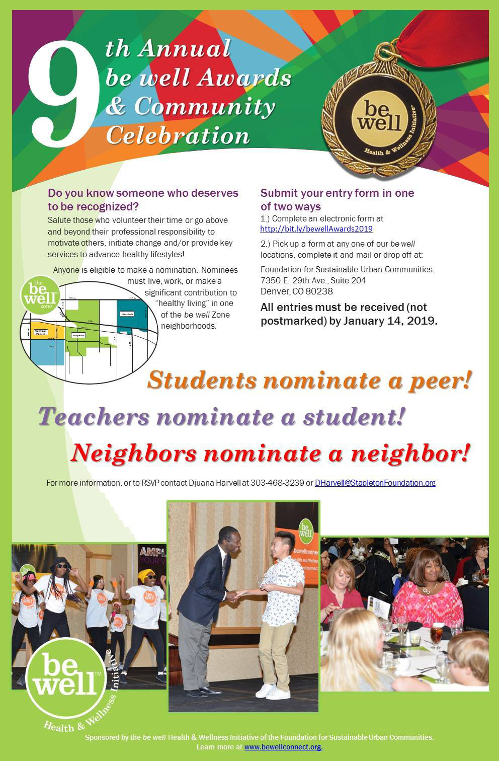 9th Annual be well Awards