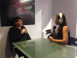 Jes interviewing Ray