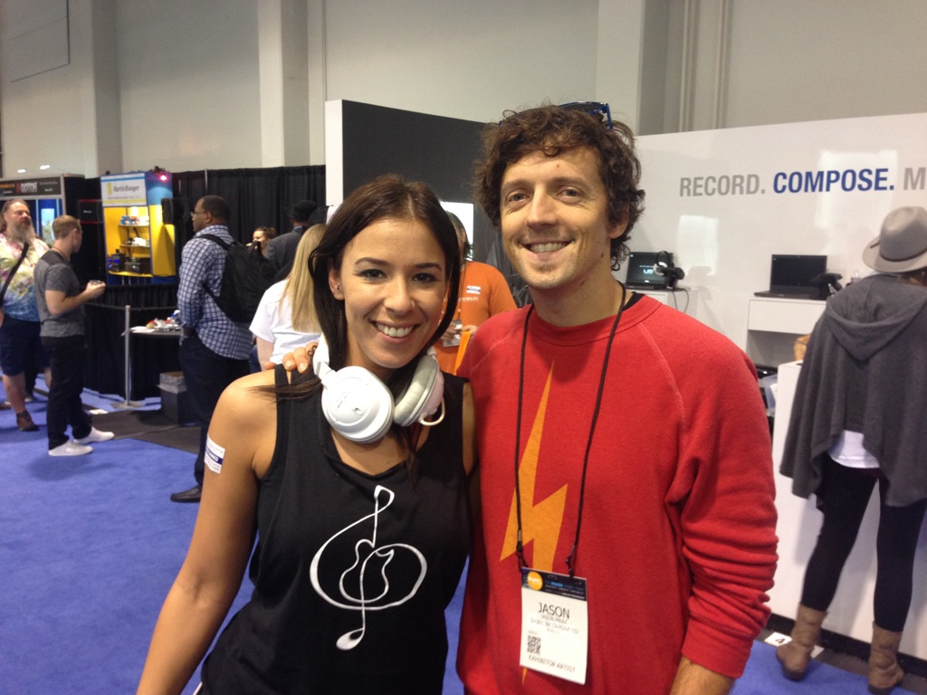 Jes chats with Jason Mraz