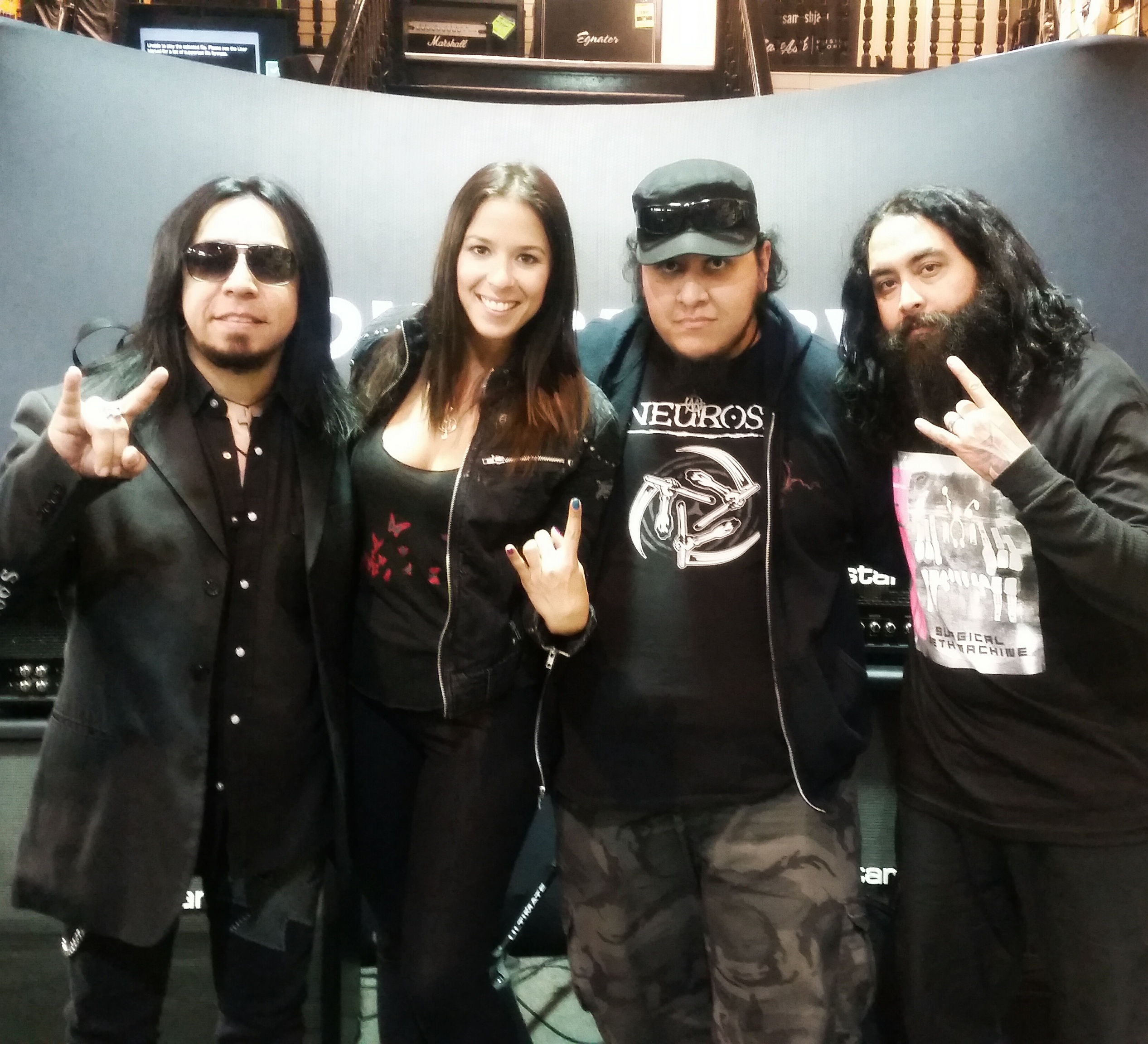 Jes with Sin & Cesar