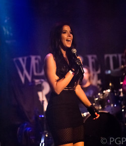 Jes Fama hosting at the Whisky