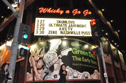 hosting at the Whisky A GOGO