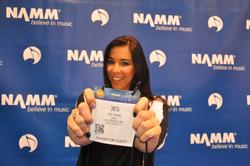 Jes at NAMM
