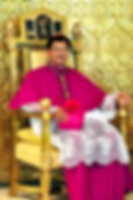 Bishop +Ruperto Santos, D.D.