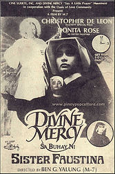 Movie poster of Divine Mercy Sa Buhay ni  Sr. Faustina starring Donita Rose & Christopher de Leon