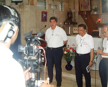 Bro. Don de Castro live on the Divine Mercy Channel