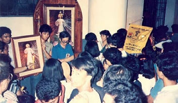 King of Mercy Prayer Group at the Immaculate Conception Parish, Cubao, Q.C.