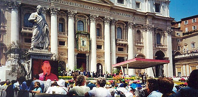 Canonization of St. Faustina