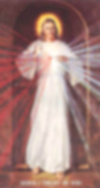 Divine Mercy Image - Skemp Version
