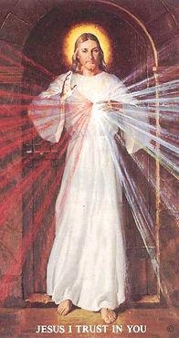 Divine Mercy Image - Skemp Version