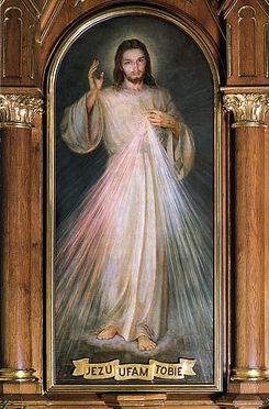 Divine Mercy Image - Hyla Version