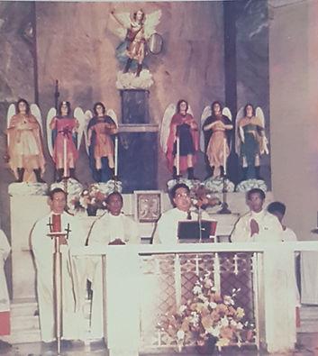 Send off mass of Bro. Don de Castro presided by Msgr. Ramirez