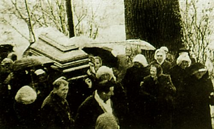 Funeral of Sr. Ma. Faustina Kowalska