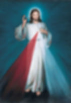 Divine Mercy Image - Webber Version