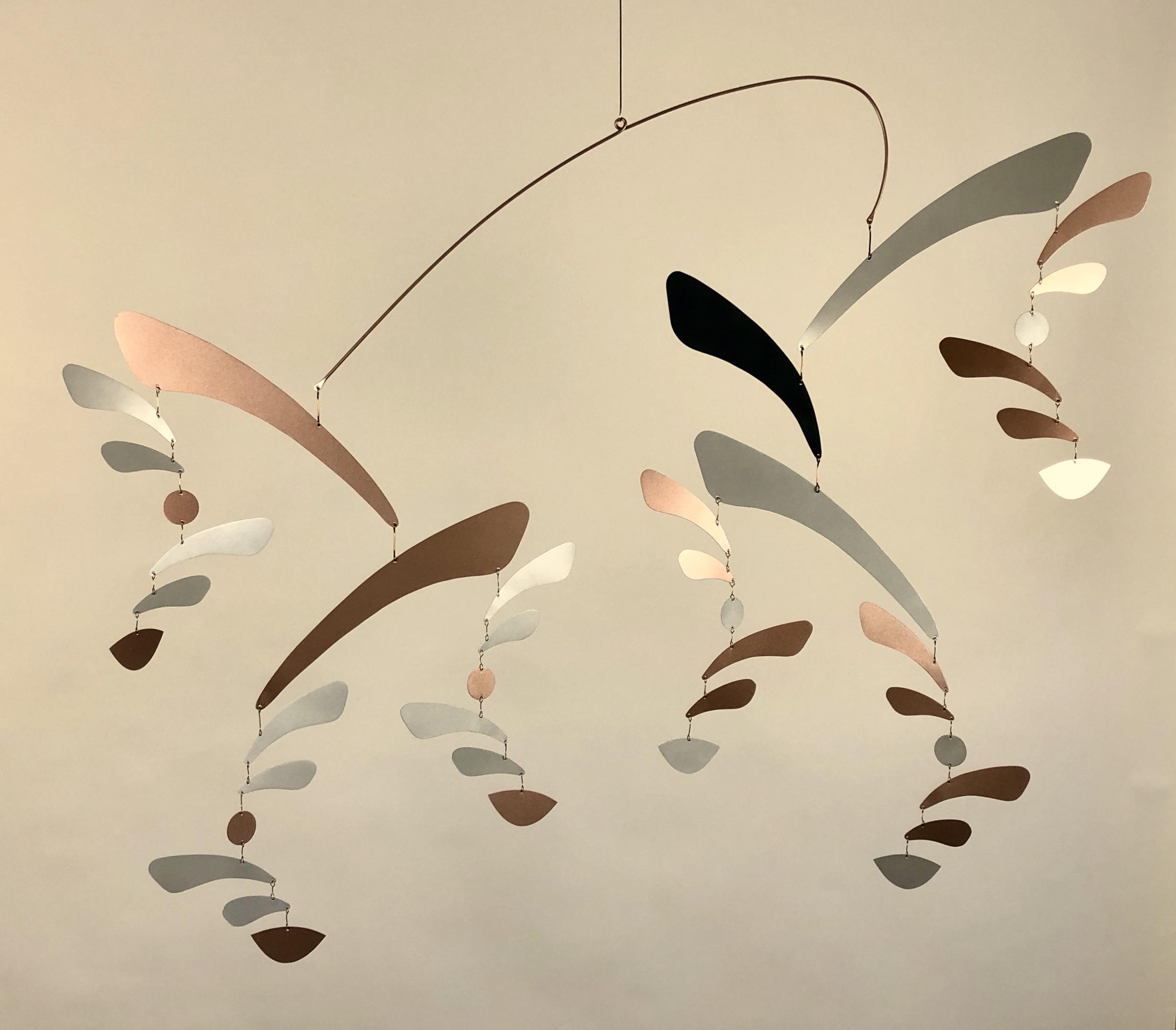 Bronze & Silver Confetti