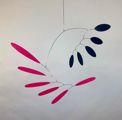 Magenta Feathers
