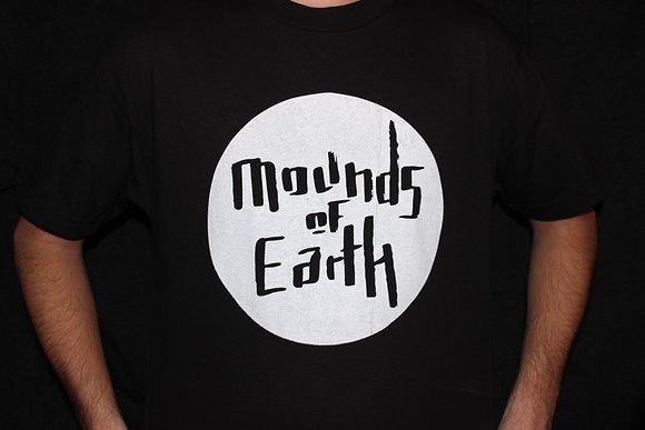 Mounds of Earth - Circle Logo (Black)
