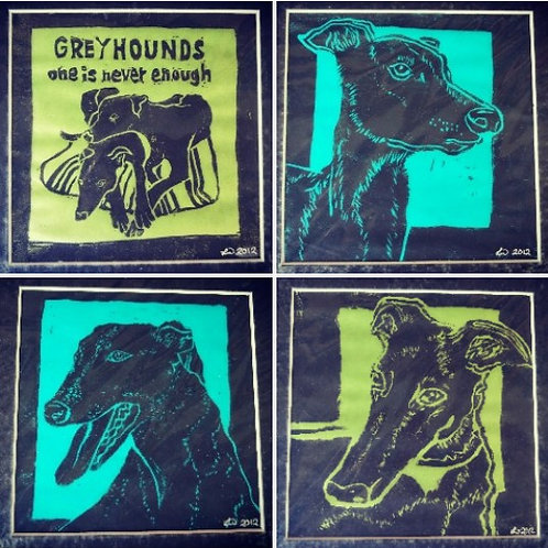 Greyhound Prints