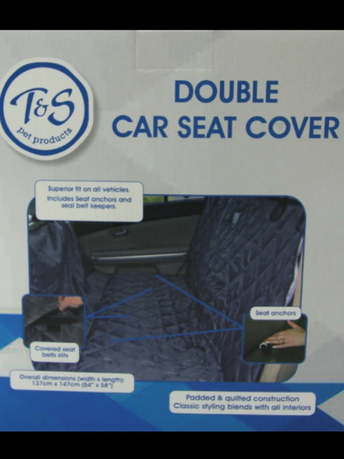 Double Car Seat Cover
