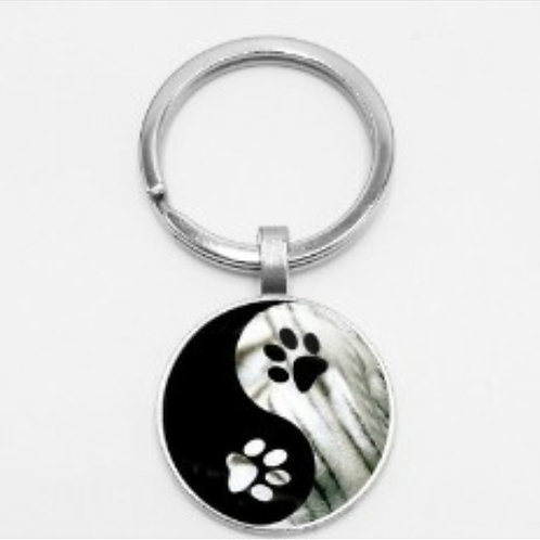 Paw Keyrings (Click for Designs)