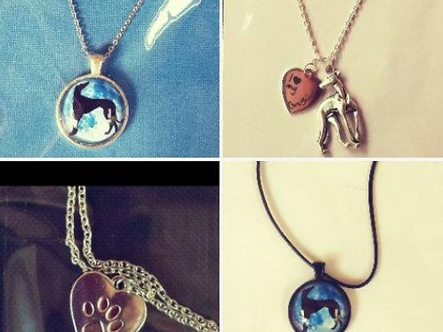 Greyhound Necklaces (Click for Design Range)