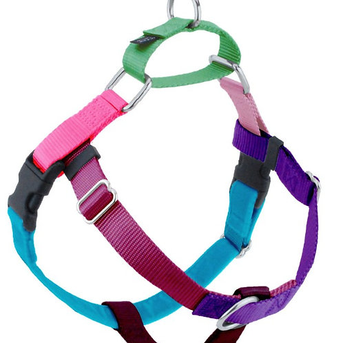 Multi Coloured Freedom No-pull Harness: Large / Extra Large