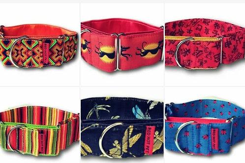 50mm Martingale Collars-Red Hot Pet [Click for Design Range]